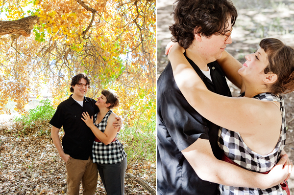 Bosque Engagement Photos - Albuquerque, New Mexico