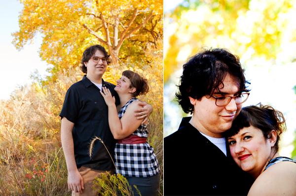 Bosque Engagement Photos - Albuquerque, New Mexico