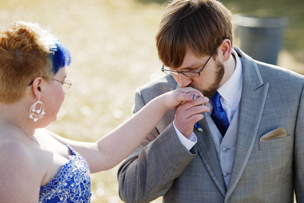 Pagan Handfasting - Non-Traditional Wedding. Albuquerque, New Mexico