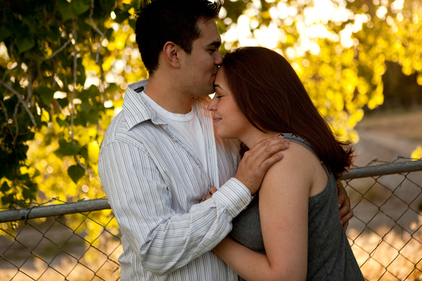 Rose Garden Engagement Session. Albuquerque, New Mexico