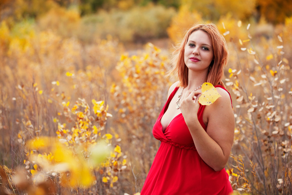 Professional Autumn Portrait - Albuquerque, New Mexico