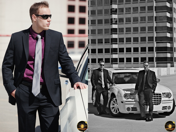 Sharp Dressed Businessmen - Portraits Downtown Albuquerque, New Mexico